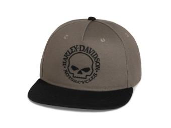 Cap, Willie G Skull, Harley-Davidson, Mehrfarbig