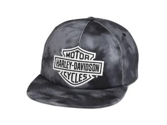 Cap, Woven, Harley-Davidson, Schwarz
