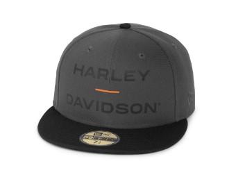Cap, Horizon Logo, 59FIFTY®, Harley-Davidson, Grau