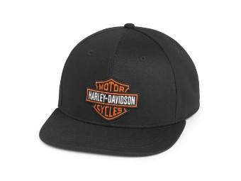 Cap, Bar & Shield, Harley-Davidson, Schwarz