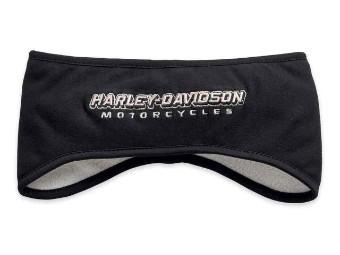 Ohrwärmer, Lined, Harley-Davidson, Schwarz