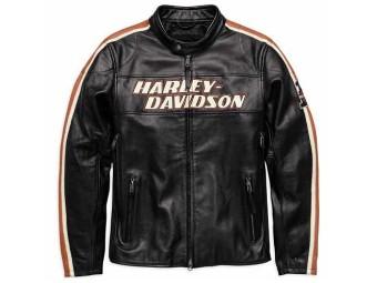 Lederjacke, Torque CE, Harley-Davidson, Schwarz