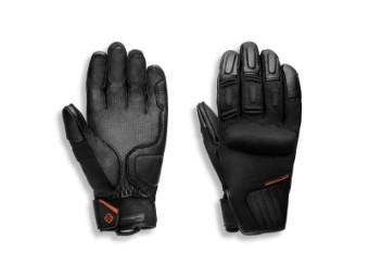 Handschuhe, Brawler, Full Finger Gloves, Harley-Davidson, Schwarz