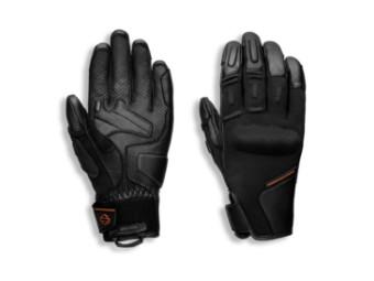 Handschuhe, Brawler, Harley-Davidson Schwarz