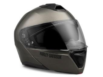 Helm, Capstone, H31, Modular, ECE, Harley-Davidson, Grau