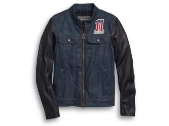 Jacke, Arterial, Funktionsjacke, Harley-Davidson, Blau/Schwarz