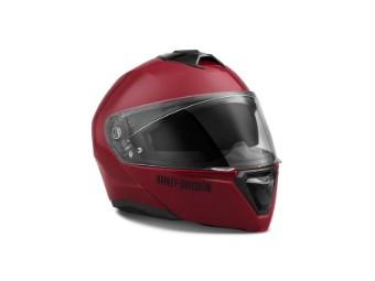 Modulhelm, Capstone Sun Shield II H31, Harley-Davidson, Rot