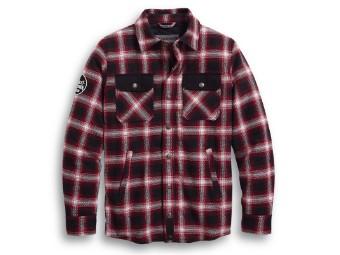Hemd, Arterial Abrasion-Resistant, Harley-Davidson, Rot