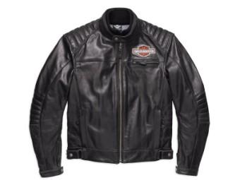 Lederjacke, Legend CE, Harley-Davidson, Schwarz