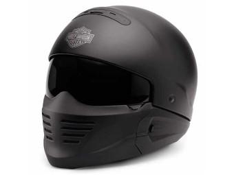 Helm, Pilot II, 2in1 X04, Harley-Davidson, Schwarz