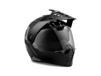 Helm, Modular Grit DOT/ECE, Harley-Davidson, Schwarz