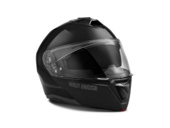Helm, Modular Capstone, H31 ECE, Harley-Davidson, Schwarz