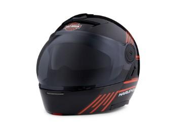 Helm, Modular Killian J08, Harley-Davidson, Schwarz