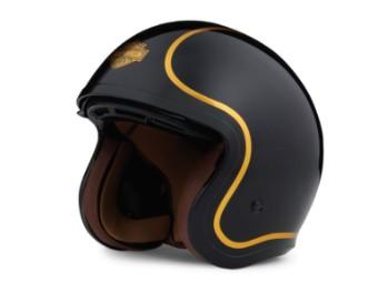 Helm, Bougie Sun Shield M06 3/4, Harley-Davidson, Schwarz/Gold