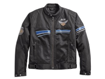 Funktionsjacke, 115th Anniversary Eagle, Harley-Davidson, Schwarz
