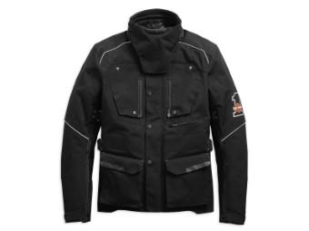 Textiljacke, Baraboo, Harley-Davidson, Schwarz