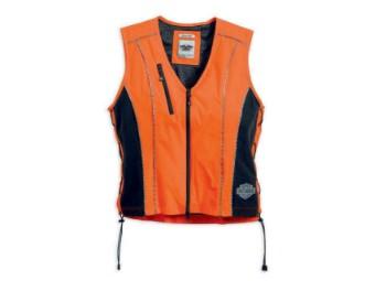 Sicherheitsweste, Harley-Davidson, Orange