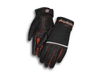 Handschuhe, Vollfinger, Harley-Davidson, Schwarz