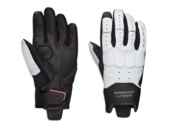 Handschuhe, FXRG® Lightweight, Harley-Davidson, Weiß/Schwarz