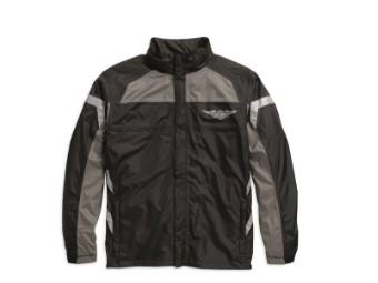 Regenbekleidung, Full Speed, Harley-Davidson, Schwarz/Grau