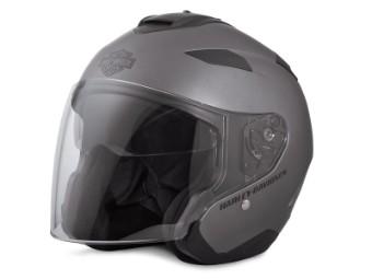 Helm, Maywood 3/4, Harley-Davidson, Matt Grau