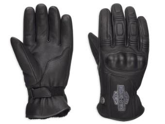 Handschuhe, Urban Leather, Harley-Davidson, Schwarz