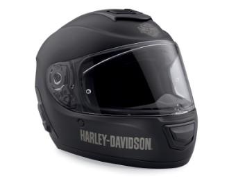 Helm, Boom!, Audio No2, Full-Face, Harley-Davidson, Schwarz
