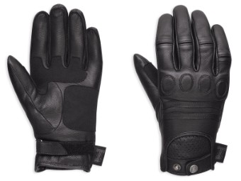 Handschuhe, #1 Skull, Harley-Davidson, Schwarz