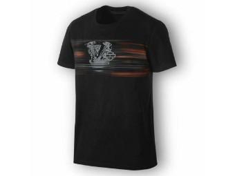 T-Shirt, Layered HD-Motor, Harley-Davidson, Schwarz