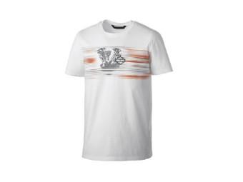T-Shirt, Layered Print, Slim Fit, Harley-Davidson, Weiß