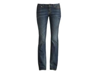 Jeans, Low Rise II, Petitie, Harley-Davidson, Blau
