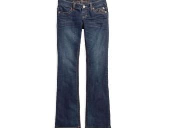 Jeans, Low Rise II, Tall, Harley-Davidson, Blau