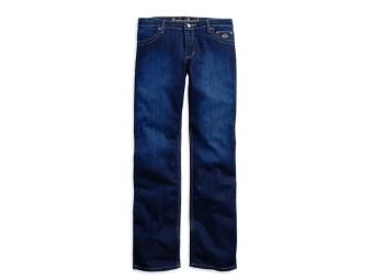 Jeans, Boot Cut, Harley-Davidson, Blau