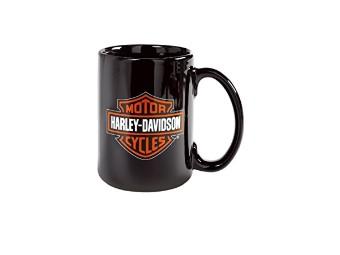 Becher, Bar & Shield, Harley-Davidson, 440 ml, Schwarz