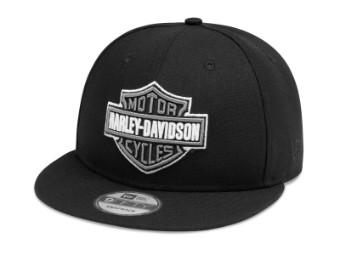 Cap, 9FIFTY, Harley-Davidson, Schwarz