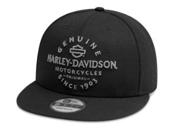 Cap, Genuine, 9FIFTY, Harley-Davidson, Schwarz
