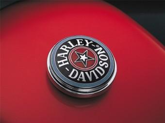 Tankdeckel-Medaillon Cloisonné, Harley-Davidson
