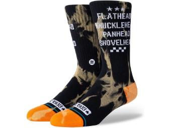 Socken, Flathead, Harley-Davidson, Schwarz