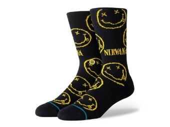 Socken, Nirvana Face, Stance, Schwarz