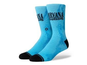 Socken, Nirvana Nevermind, Stance, Blau