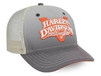 Cap, V-Twin Power, Harley-Davidson, Grau