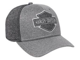 Baseballkappe, Verstellbar Harley-Davidson, Grau