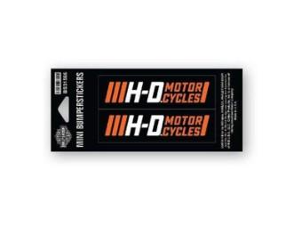 Bumpersticker, Traction, Harley-Davidson, Schwarz/Orange/Weiß