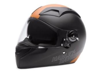 Helm, FXRG® Panoramic Vision Full Face, Schwarz/Orange