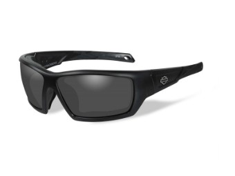 Sonnenbrille, Backbone, Smoke Grey, Harley-Davidson, Matte Black Frame