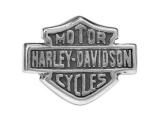 Ohrstecker, Bar & Shield, Harley-Davidson, Silber