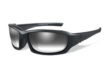 Sonnenbrille, GEM, Light Adjusting Grey, Matte Black Frame