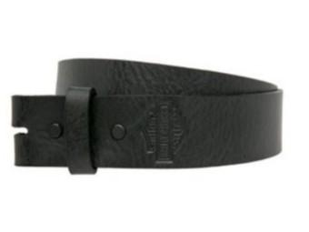 Gürtel, Plain & Simple Strap, Harley-Davidson, Schwarz