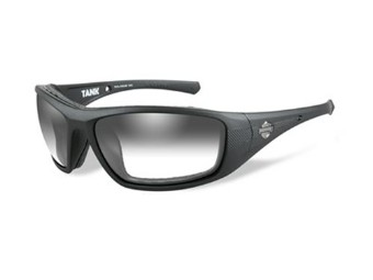 Sonnenbrille, Tank, Harley-Davidson, LA Grey, Matte Black Frame