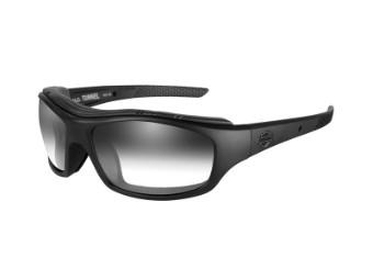 Sonnenbrille, Tunnel, Harley-Davidson, LA Grey, Matte Black Frame